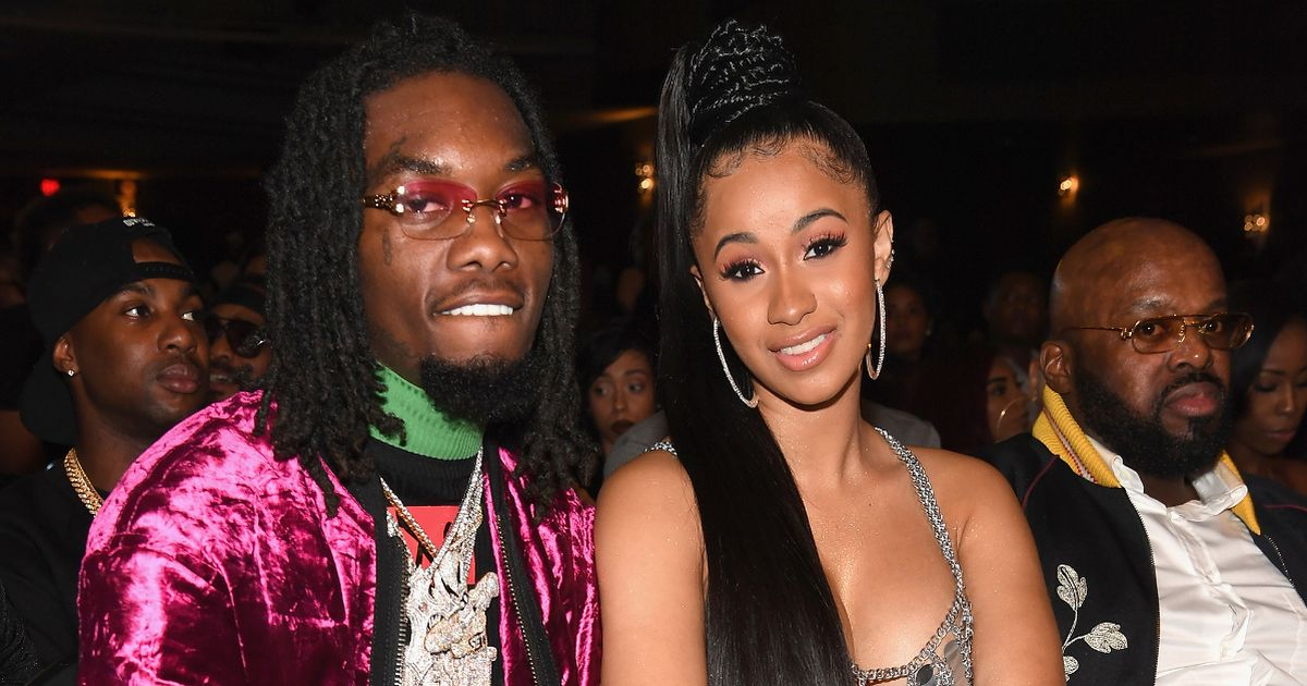 Cardi B and Offset transform home into Winter Wonderland with 5 Christmas trees