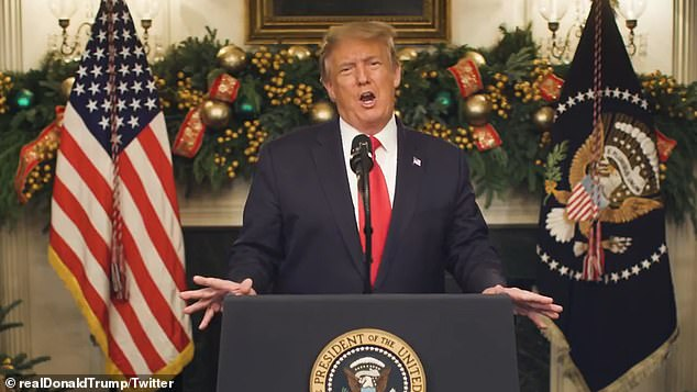 Trump has made unsubstantiated claims of widespread electoral fraud and has been trying unsuccessfully to overturn the victory of Democrat Joe Biden