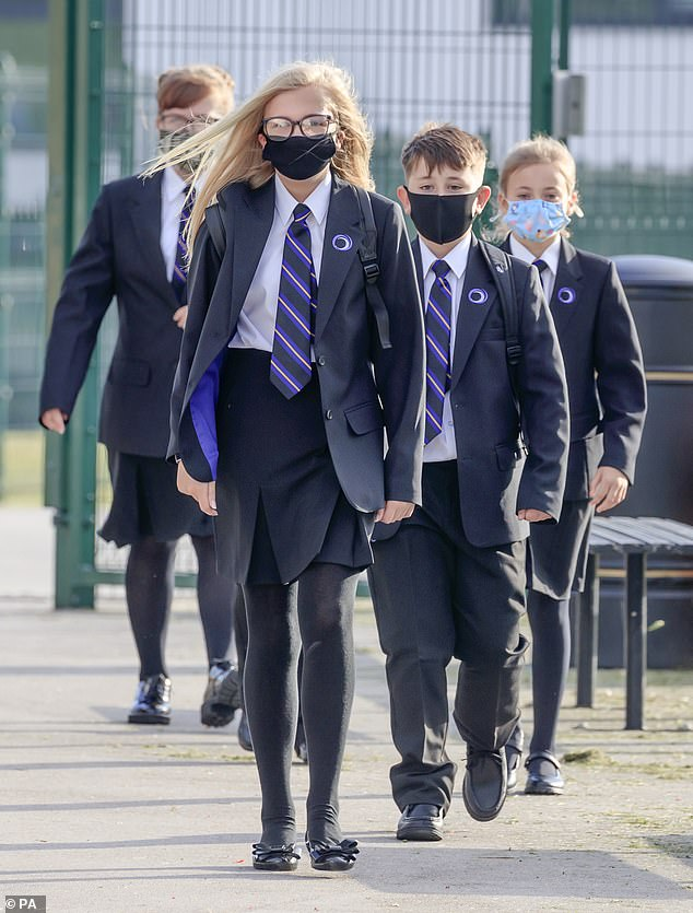 To force more mental suffering on children by separating them from friends and daily routines is simply wicked. It's indefensible. All children should have a cast-iron right to education, which is critical to the future of this country. Pictured: Pupils in Doncaster