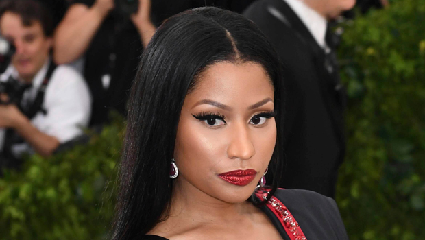 Nicki Minaj Glows In Makeup-Free Video After Getting Her Hair Styled In Waves Days Before Son's 1st Xmas