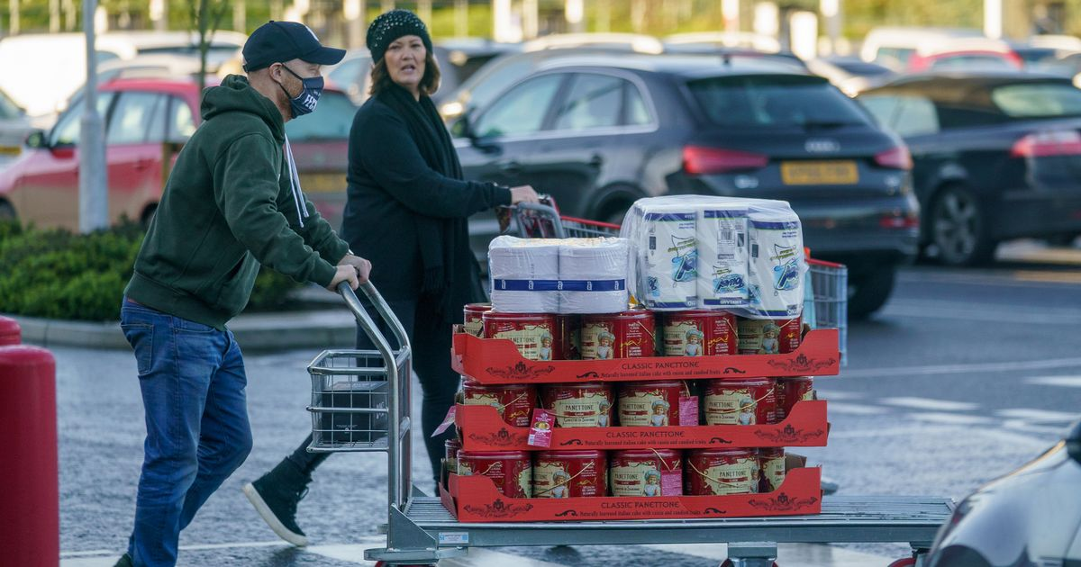 Jake Wood does huge Christmas shop with 36 panettone after leaving EastEnders