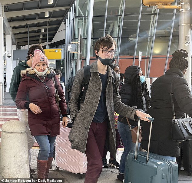 Anatoly Grablevsky, 19, said airport officials in London Heathrow didn't screen him with any pre-boarding questions about his health or potential symptoms