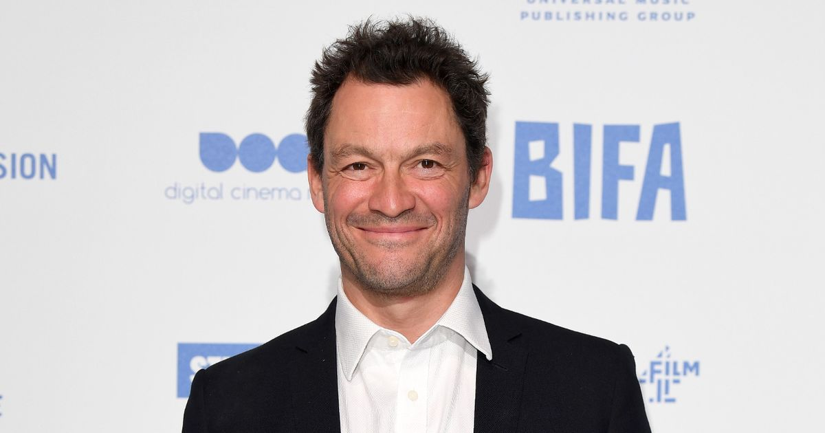 Dominic West and wife share 'socially distanced' Christmas card after Rome jaunt