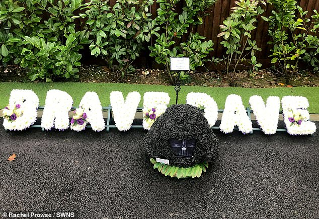 Prowse's daughterposted a series of images of floral tributes - including nods to his famous roles as Luke's father and the Green Cross Code Man