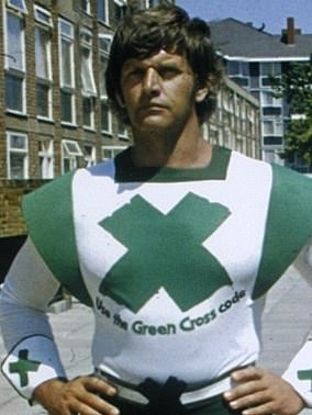 David Prowse played the Green Cross Code Man - at first prior to his role in Star Wars.