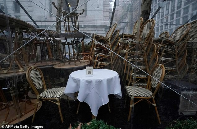 NYC restaurants are not allowed to offer any kind of indoor dining and they face strict outdoor dining rules. Anyone found breaching the rules is fined