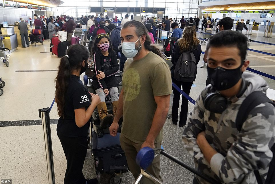 The influx in air travel ahead of the Christmas holiday is so far outpacing what the US saw in the days leading up to Thanksgiving (LAX)