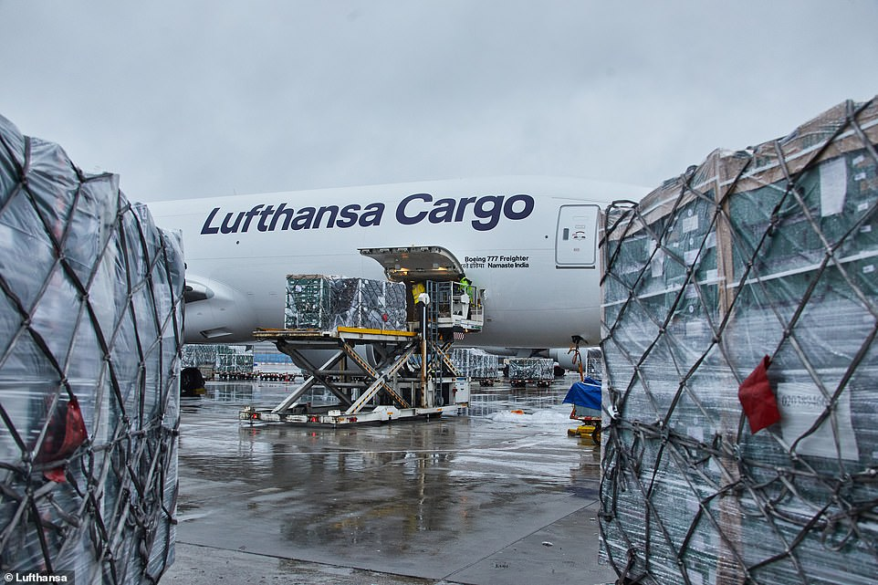 Additional special cargo flights currently under examination, a spokesman for the German airline told MailOnline yesterday