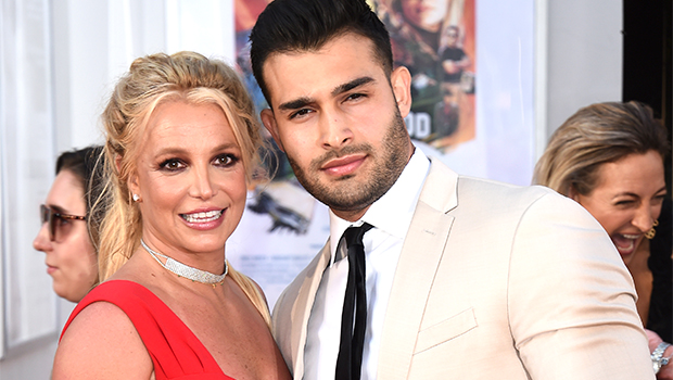 Britney Spears & BF Sam Asghari Are 'Daredevils' Riding A Scooter Through Her Living Room — Watch