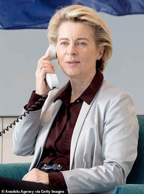 Mrs von der Leyen is also said to have established back channels to German Chancellor Angela Merkel – the EU's powerbroker – and French President Emmanuel Macron, who is seen in Downing Street as the main obstacle to a deal