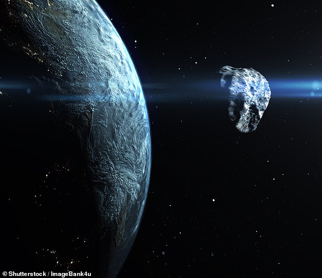 NEOs are an asteroid or comet whose orbit brings it into or through a zone between approximately 91 million and 121 million miles (195 million km) from the Sun, meaning that it can pass within about 30 million miles (50 million km) of Earth's orbit (stock image)