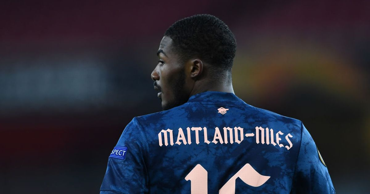 Atletico Madrid considering January swoop for Arsenal defender Maitland-Niles