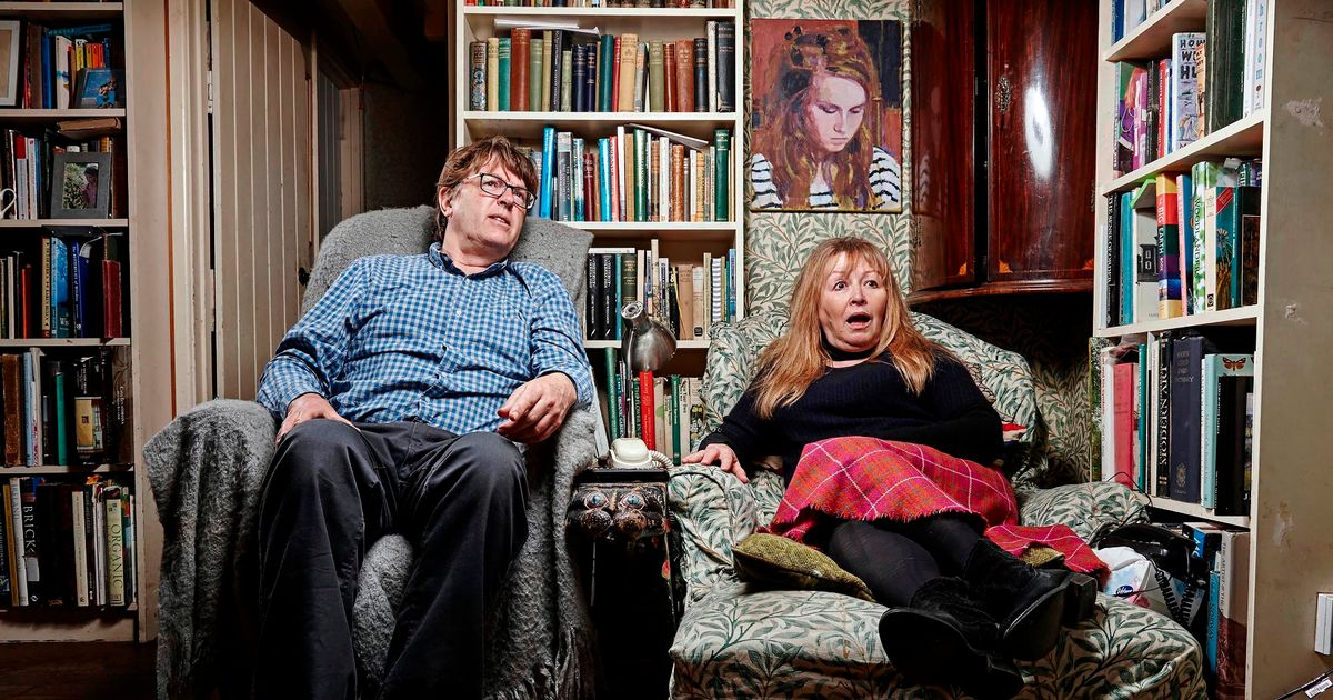 Gogglebox stars Giles and Mary reveal exactly why they call each other 'nutty'