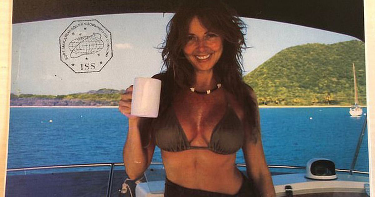 Carol Vorderman celebrates 60th birthday with sexy pic that was seen from space
