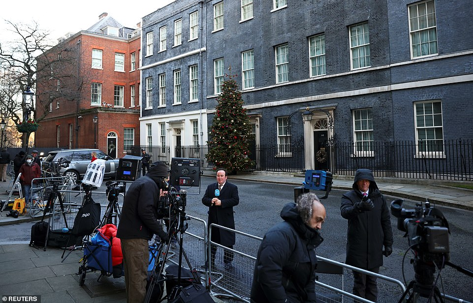 Downing Street was bustling today as the world awaited confirmation of a post-Brexit trade agreement