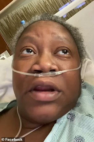 Her death comes more than two weeks after she posted a viral video on Facebook saying that she was not given adequate medical care while hospitalized at Indiana University North in Carmel, Indiana