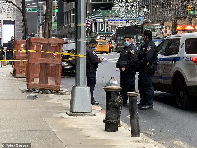Attack occurred during the middle of the day during what is normally a busy part of the city