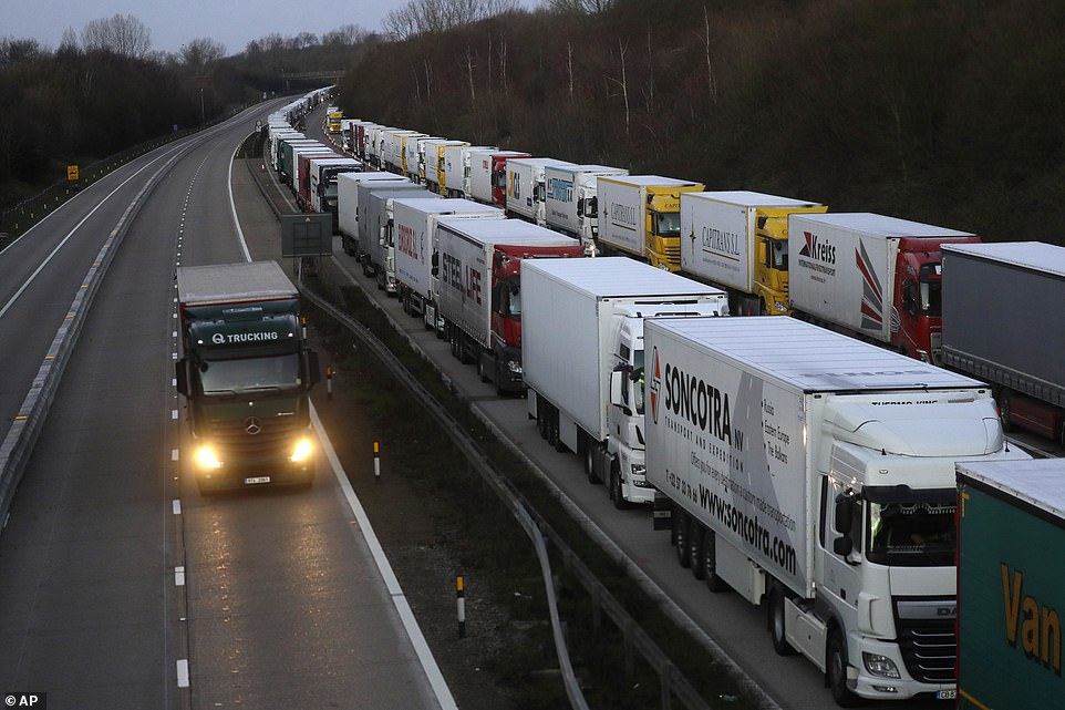 Thousands wait to resume their journey across The Channel as Covid tests are administered by an international taskforce