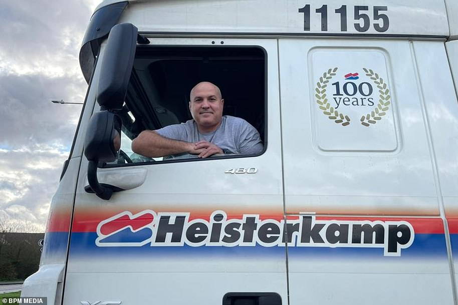 Unlucky trucker John Christmas has admitted he will likely spend the festive season in his lorry parked in a lay-by