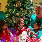 Cristiano Ronaldo leads the way as sports stars celebrate Christmas