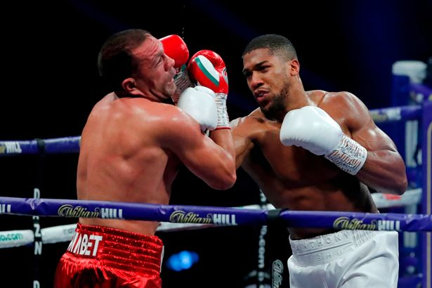 Joshua was back to his best against Pulev