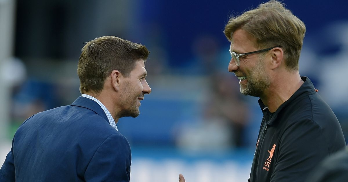 Steven Gerrard offers realistic viewpoint on replacing Jurgen Klopp at Liverpool