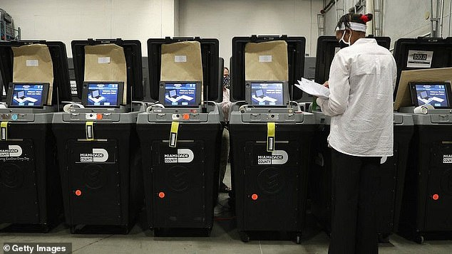 Dominion, the company that supplied the hardware and software for voting machines in the election, slammed the 'smear campaign'