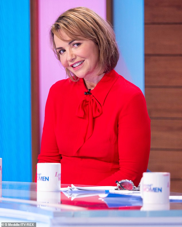Check yourself! Rita urged women to check their breasts and said her mum Vera, who is an NHS psychiatrist, did not have a lump on her breast but experienced a 'sharp pain'