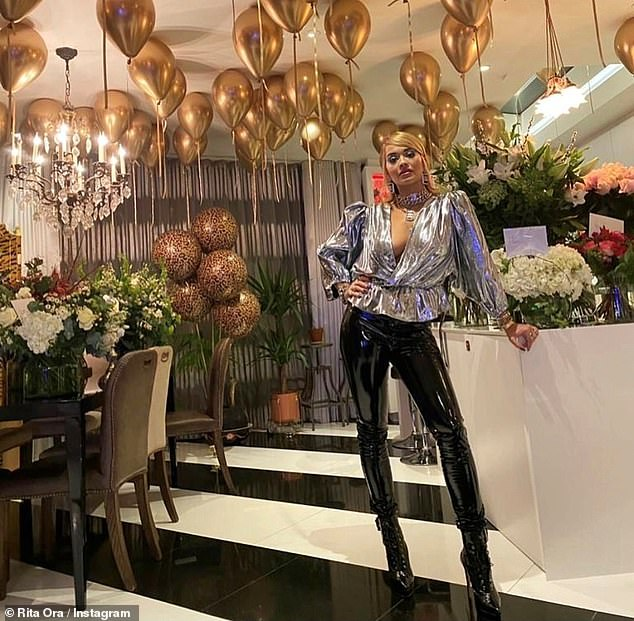 Criticism: Rita has recently received huge backlash for hosting a birthday party to celebrate her 30th that flouted Covid-19 regulations