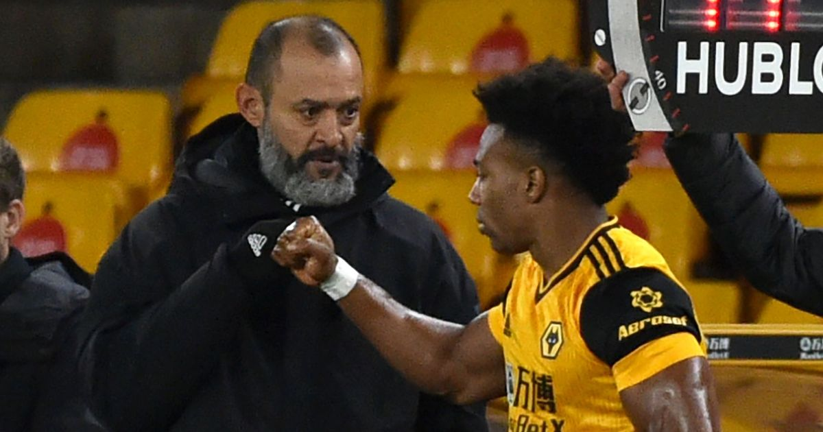 """Wolves boss Nuno admits Traore """"problems"""" amid worrying dip in form"""