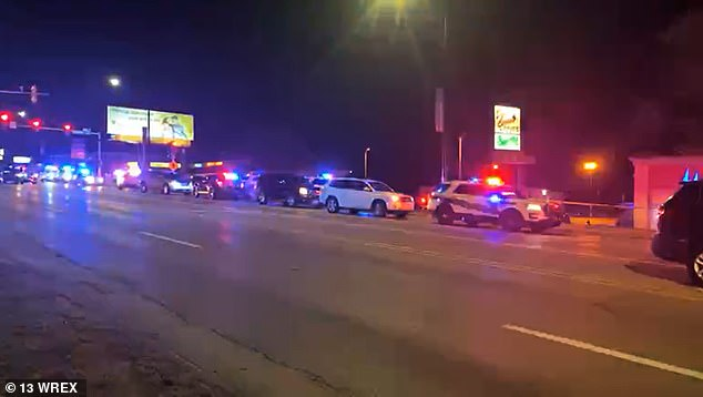 Officers from multiple agencies including the Rockford Police Department and the Illinois State Police have been on the scene on Saturday evening