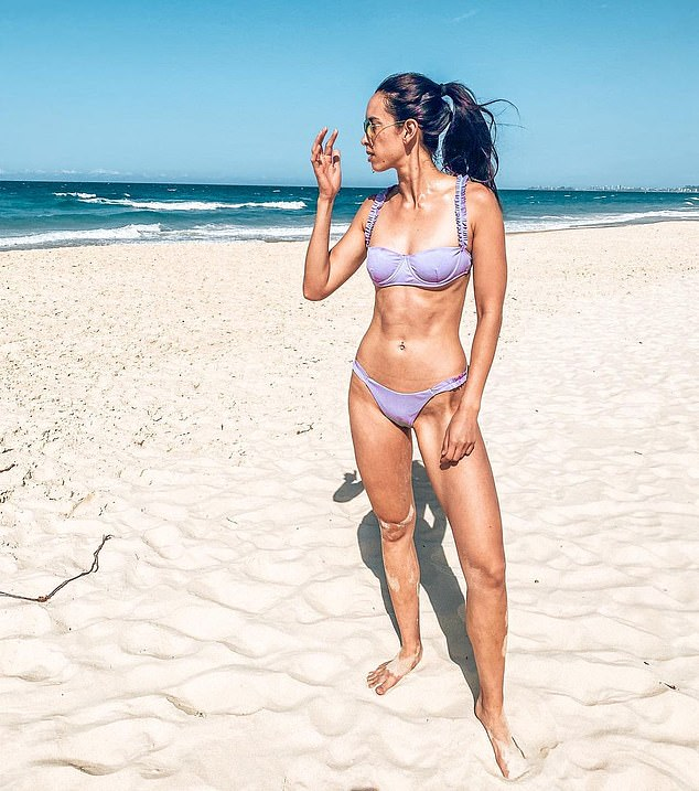 Leanne (pictured) revealed that one of the best things you can do is do a quick workout or a run first thing in the morning to get your exercise out of the way