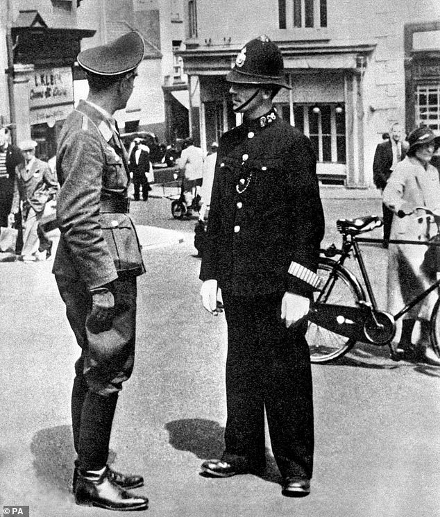 At first the officers ¿ deeply resentful at having to salute passing German officers ¿ followed the BBC instructions to the letter by putting sand in petrol tanks of cars and painting ¿V for victory¿ signs around the island. Emboldened by these small acts of sabotage, they then set about helping the hungry civilian population