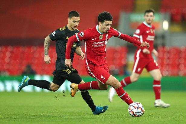 Curtis Jones has stepped up with aplomb amid Liverpool's injury crisis
