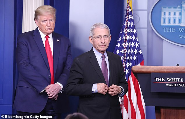 'I would get him vaccinated,' Fauci said of Trump, adding though that the decision ultimately lies with the president and his physician