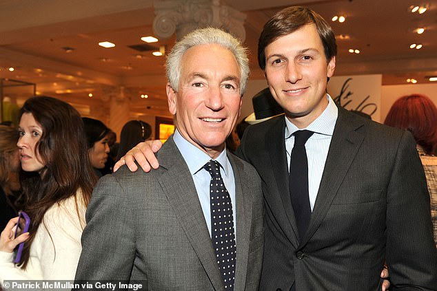 Charles Kushner (left, pictured with son Jared Kushner) was pardoned by the Trump administration on Tuesday last week, 15 years after he was convicted for tax fraud and other charges
