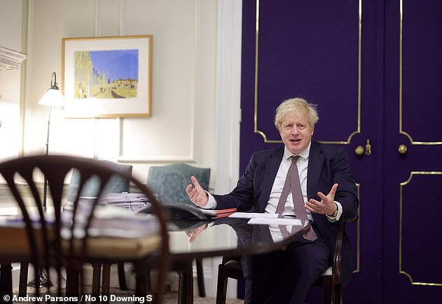 Pressure was growing on Boris Johnson (pictured) last night from within his own party to keep pupils out of school at the start of the new term