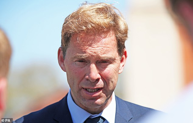 Former defence minister Tobias Ellwood (pictured) said troops should be deployed to carry out tests and keep schools open