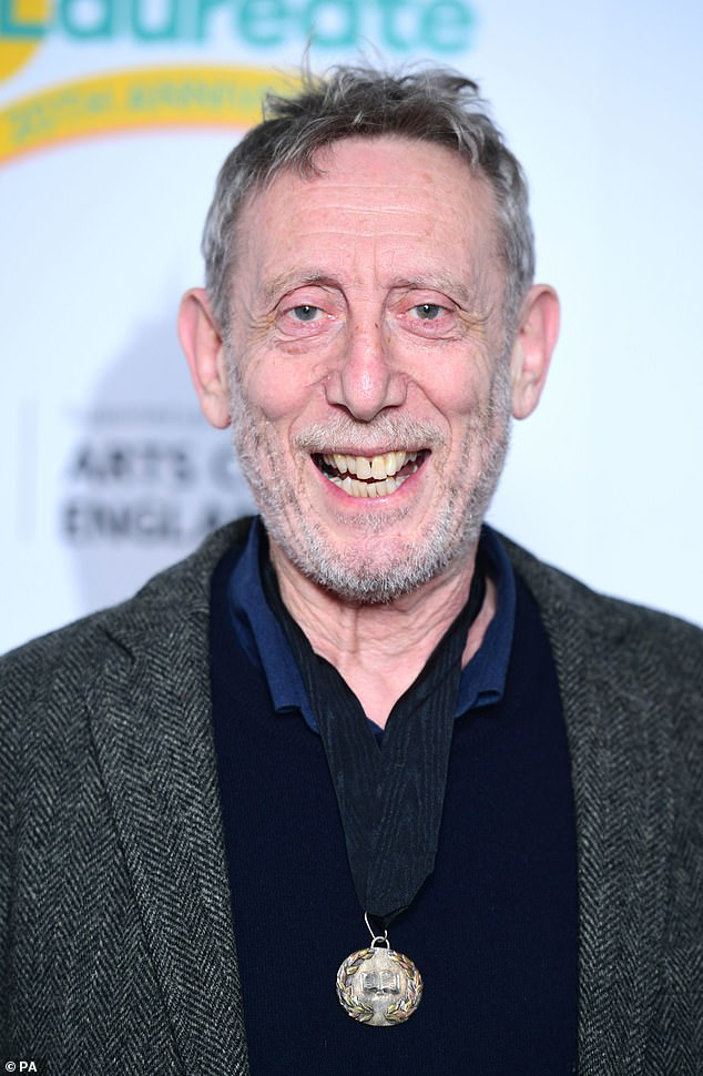 Children's author Michael Rosen, 74, says his battle with Covid has left him with sight, hearing and memory problems including the inability to remember famous Hollywood actor's names