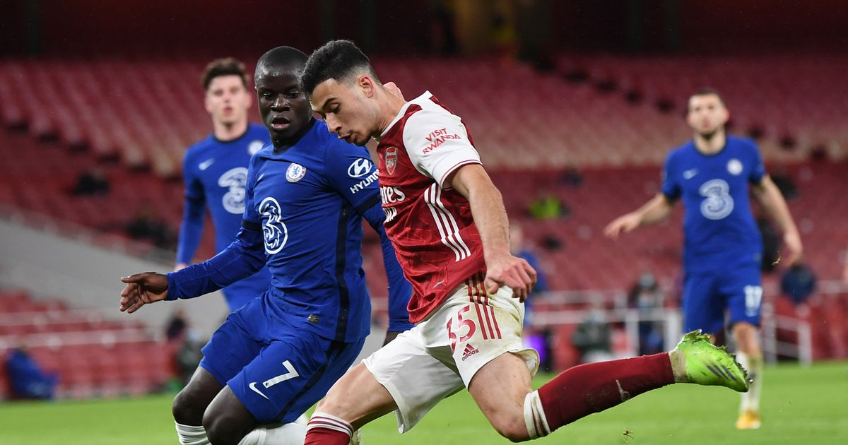 Gabriel Martinelli mocks N'Golo Kante with brutal trolling on social media