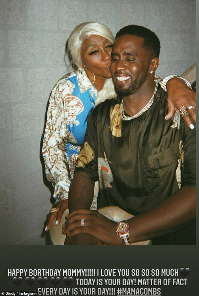 Happy birthday!Last week, Diddy made waves as he gifted his mom Janice with $1million and a new Bentley in celebration of her 80th birthday at a lavish dinner in Los Angeles