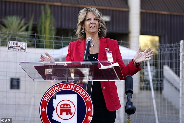 Kelli Ward, the chair of the Arizona Republican Party, and other 'electors' joined the lawsuit. On the same day the actual Electoral College met, groups of Republican electors gathered in key swing states that President-elect Joe Biden won and voted for President Donald Trump