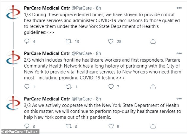 ParCare has publicly defended themselves against accusations and vowed to cooperate
