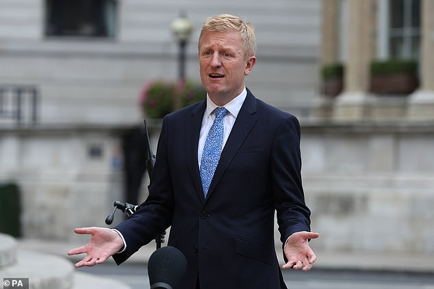 Digital, Culture, Media and Sport Secretary Oliver Dowden, who is currently in talks with the BBC over the cost of the TV licence from April 2022