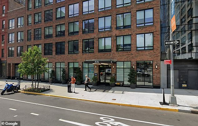 The Arlo SoHo hotel in New York City is seen in the above file photo