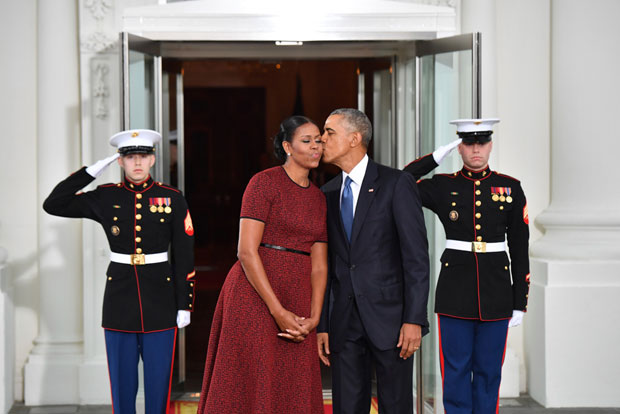 Barack and Michelle Ob