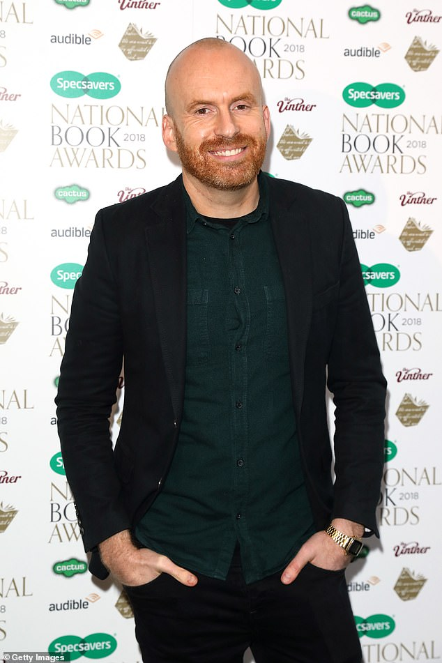 The Duchess of Sussex revealed that she 'loves' Matt Haig's best-selling novel Notes on a Nervous Planet. Pictured, the authorattending the National Book Awards at RIBA on November 20, 2018 in London