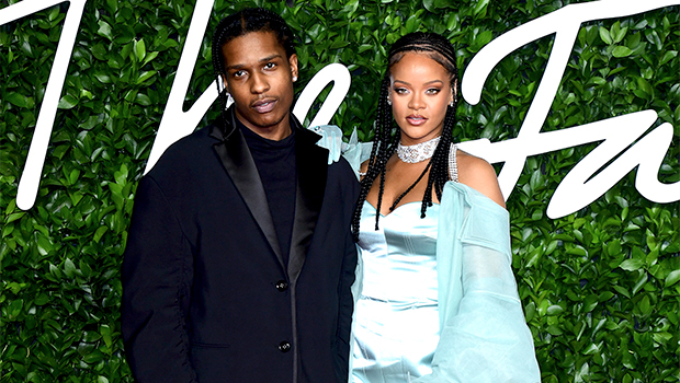 Rihanna & A$AP Rocky Cozy Up On A Boat, Go Jet Skiing & More On Barbados Getaway – Pics