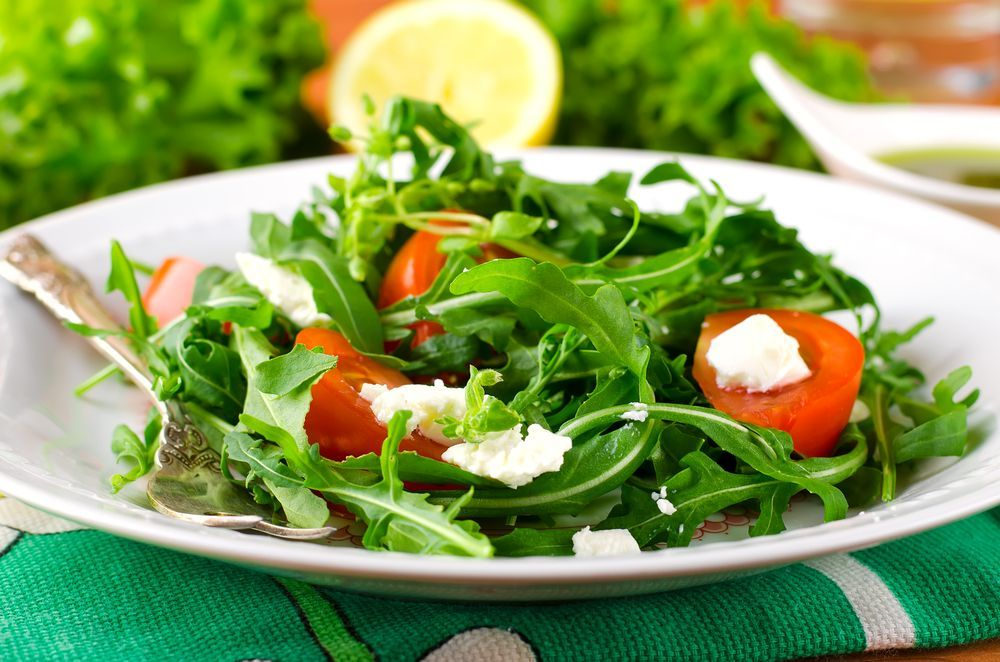 diet spinach salad