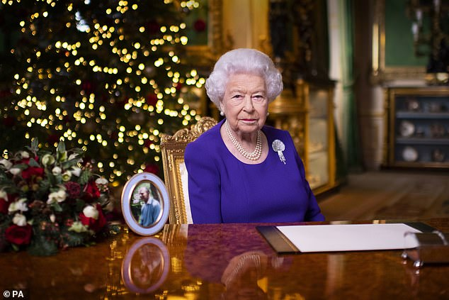 The Queen (pictured) will be on standby at Windsor Castle, where she is expected to give royal assent shortly before midnight. She may have to stay up until the early hours if the debate in the Lords drags on